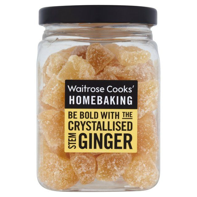 crystallised stem ginger