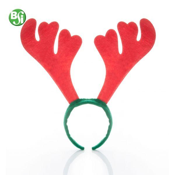 Cerchietto con corna di renna in feltro.  #cerchietto #natale #gadgetpersonalizzati #gift #renna #christmas