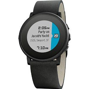 Love the pebble round. It is the first pebble watch that looks like a watch not a tech toy.