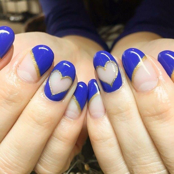 ber ideen zu blaue n gel auf pinterest fingern gel nagellack kunst und kurze n gel. Black Bedroom Furniture Sets. Home Design Ideas