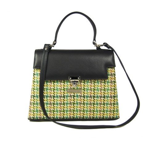 Kelly Houndstooth Bag by Karen Wilson Hand Bags.