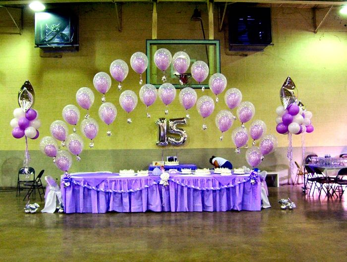 Quincea era decoration izzy 39 s quincea era pinterest for Balloon decoration ideas for a quinceanera
