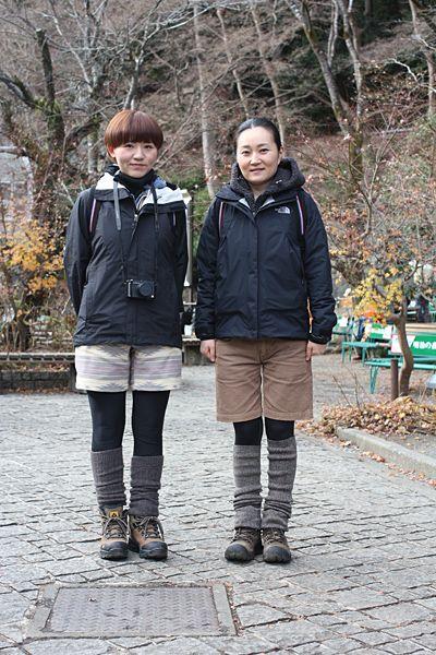 2011冬・高尾山(東京都) スナップ ファッション 山ガールネット 山とアウトドアファッションを愛する女子のための情報サイト