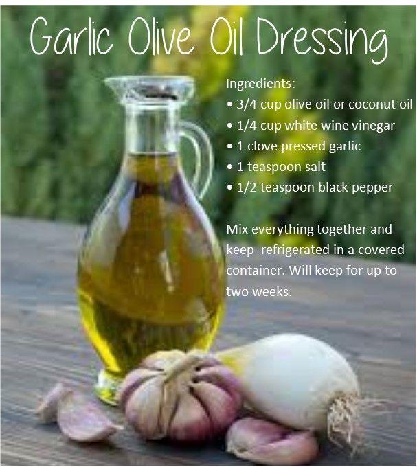 Deep S - Garlic Olive Oil Dressing