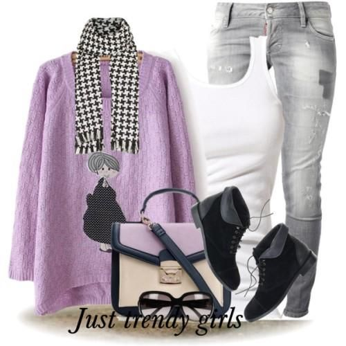 teens winter outfit