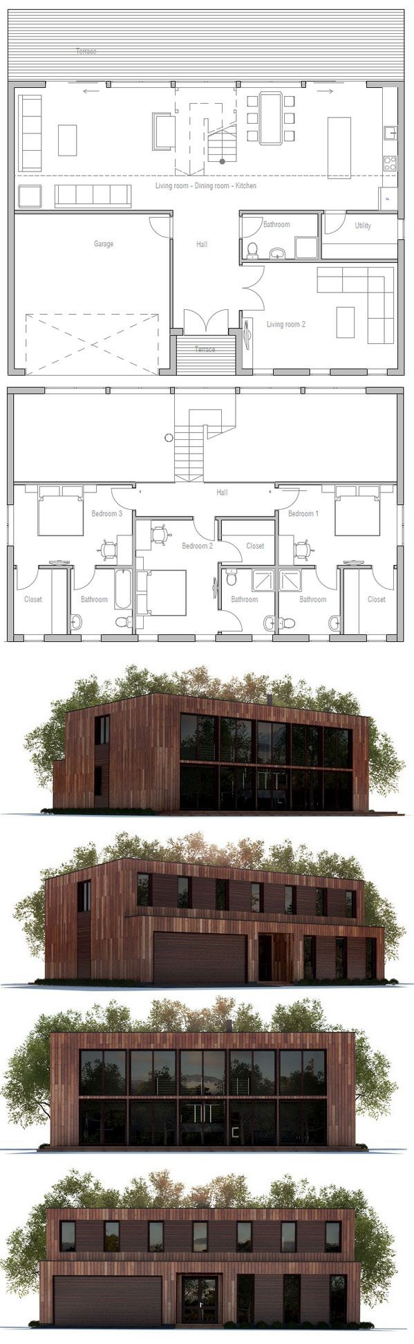 House Plan in modern Architecture 146 best