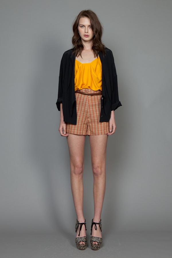 Liberty Top, Soft Goods Shorts, Woman Blouse