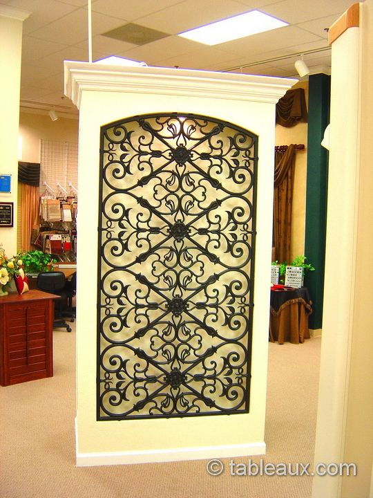 Tableaux Faux Iron Grilles Residential Walls 4