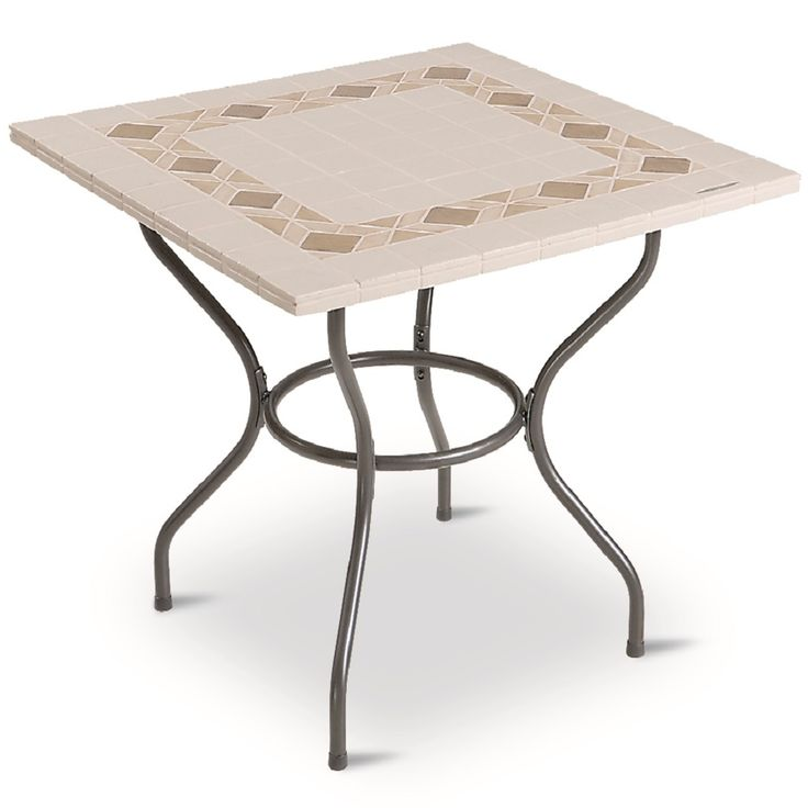 Contemporary Stone 'Mosaico' Table, very classic and elegant, at My Italian Living Ltd
