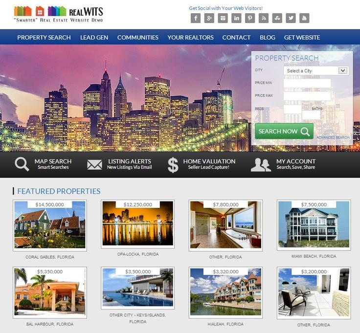 Real Estate Website Design & Lead Generation  - http://realwits.com/real-estate-website-design-lead-generation  http://realwits.com/wp-content/uploads/2013/06/real_estate_website_design_development.png
