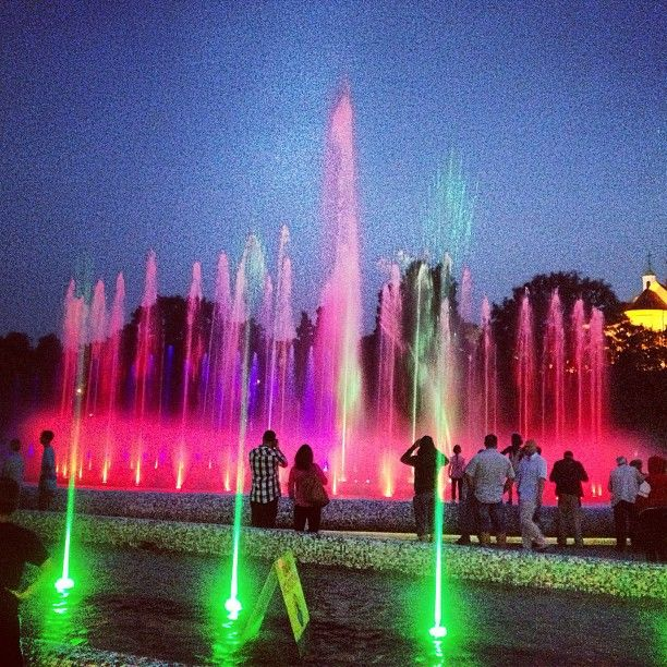 Multimedialny Park Fontann , город Warszawa, Województwo mazowieckie