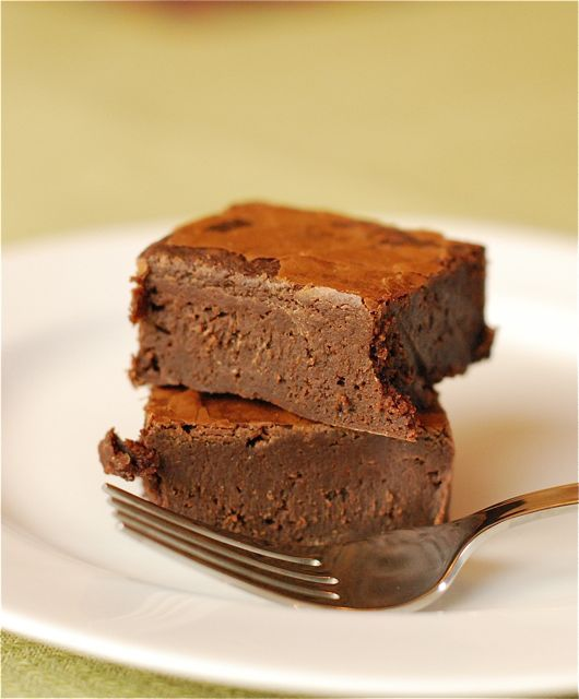 Brownie mix + diet dr. pepper = yum!