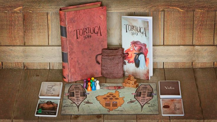Facade Games Welcomes You to Tortuga 1667 on Kickstarter | Dice Tower News