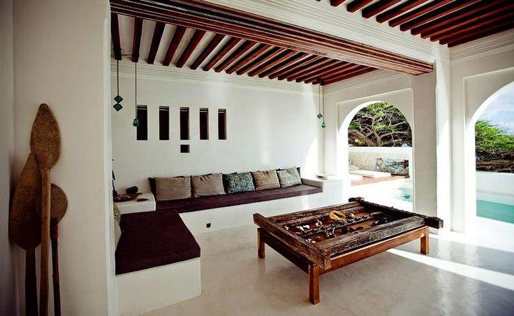 Forodhani House Lounge area Kenya