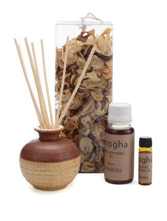 IRIS REED DIFFUSER FRAGRANCE GIFT SET -LEMON GRASS