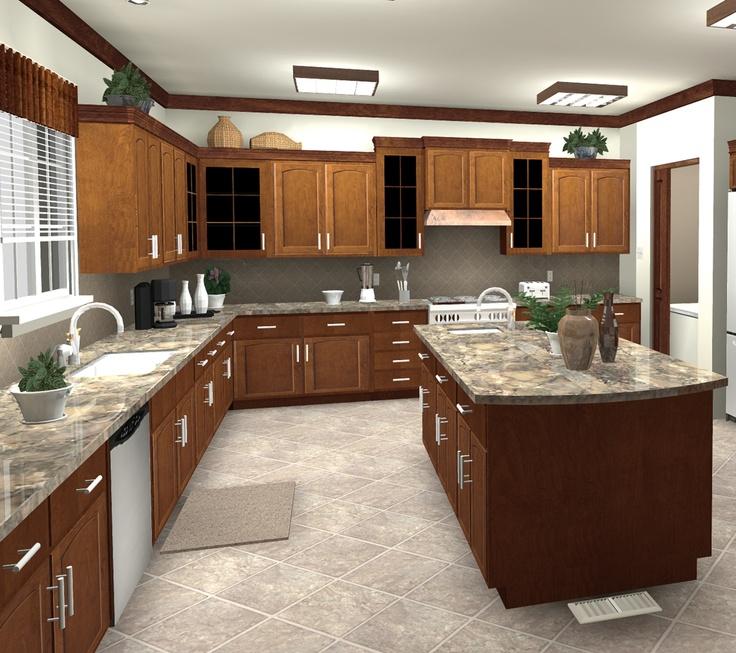 Kitchen Design Rendering Turbofloorplan 3d Home Landscape Pro Home Landscape Design