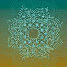 Gradient mandala 3 by creativelolo