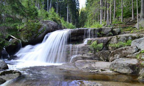 vodopády na Černé Desné, Jizerské hory