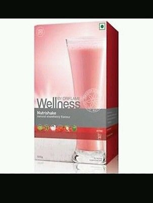 Oriflame nutrishake strawberry flavor