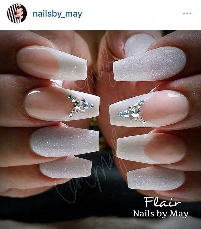 French Nails Ideas Natural Americanfrenchnails Bride Nails Wedding Nail Art Design Wedding Nails French