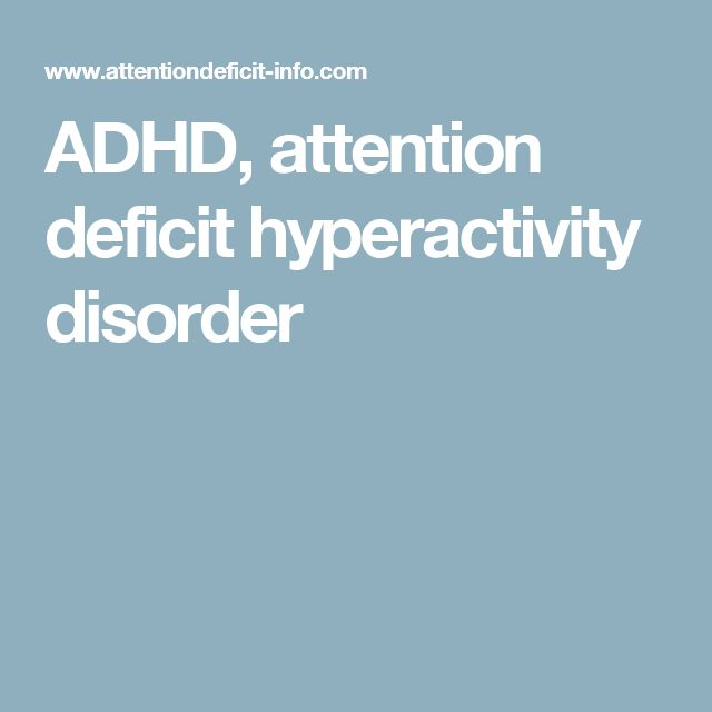 the causes of attention deficit disorder Health experts say that adhd (attention deficit hyperactivity disorder) is the most common behavioral disorder that starts during childhood however, it does not only affect children.