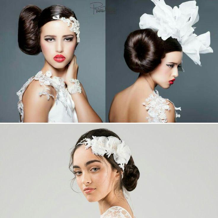 Headpieces custom made so fashionable and stylish aleksbridal.com.au