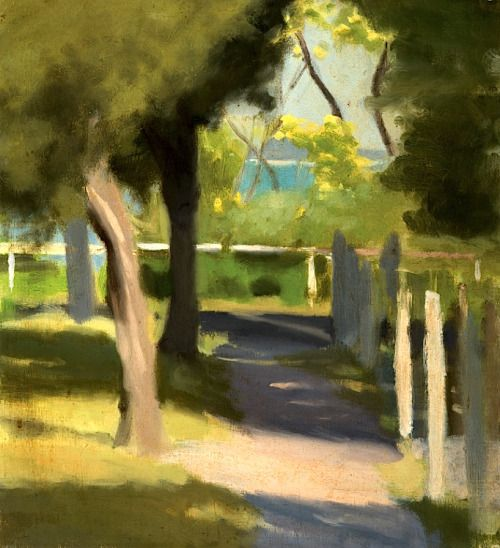 bofransson: Clarice Beckett, Path to the Beach