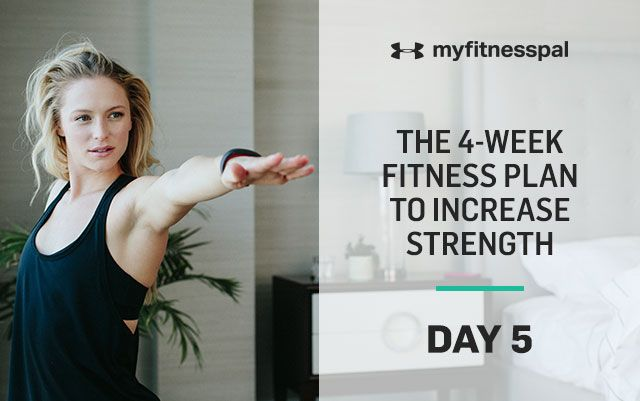Welcome to Day 5 of the four-week fitness plan to increase strength! In just four short weeks, you'll be on your way to a stronger, fitter you. This strength and mobility program shows you where to begin as well as how to make progressions. Best of all: The workouts can be done from your living …
