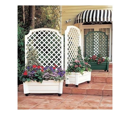 41 best portable privacy images on pinterest lattice for Portable patio privacy screens