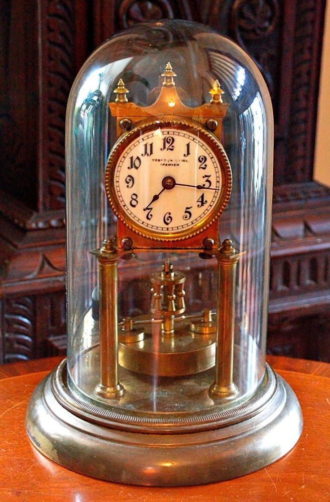Antique Urania Clock Company 400 Day Anniversary Clock