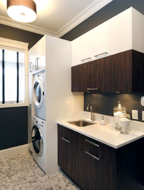 20 laundry room cabinets with small space ideas 20 Laundry Room Design with Small Space Solutions