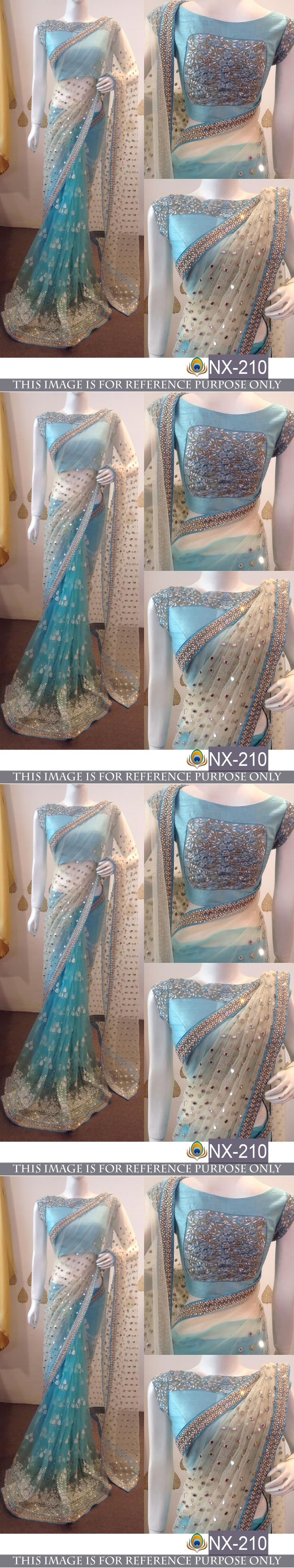 Sari Saree 155250: Bollywood Designer Saree Sari Lehenga Choli Indian Pakistani Party Wedding Wear -> BUY IT NOW ONLY: $56 on eBay!