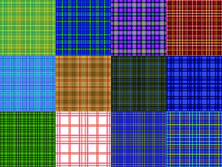 Free Plaid Patterns for Photoshop by Shelby Kate Schmitz: Plaid Patterns Set 7