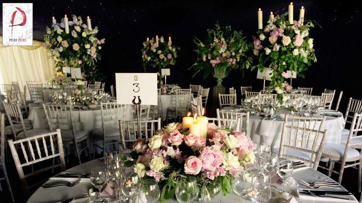 Wedding Breakfast inspiration #wedding #decoration #centrepiece