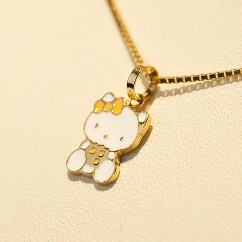 Lantisor cu pandantiv Hello Kitty