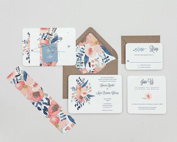 598 besten Hochzeitspapeterie und Hochzeitseinladungen I Wedding