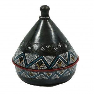 Ethiopian Handmade Unglazed Tagine