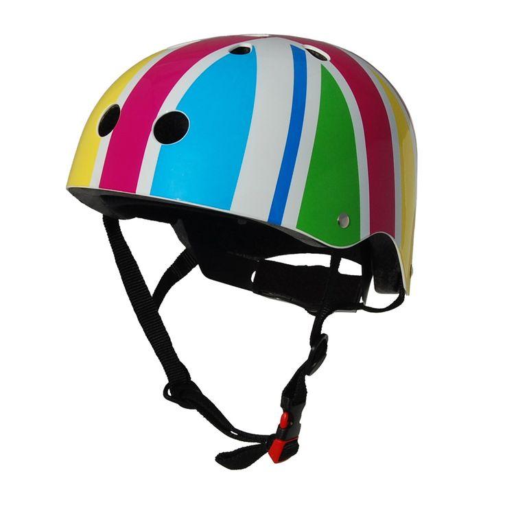 Girl's Kiddimoto Helmets - Kiddimoto Kids Helmet - Rainbow Union Jack