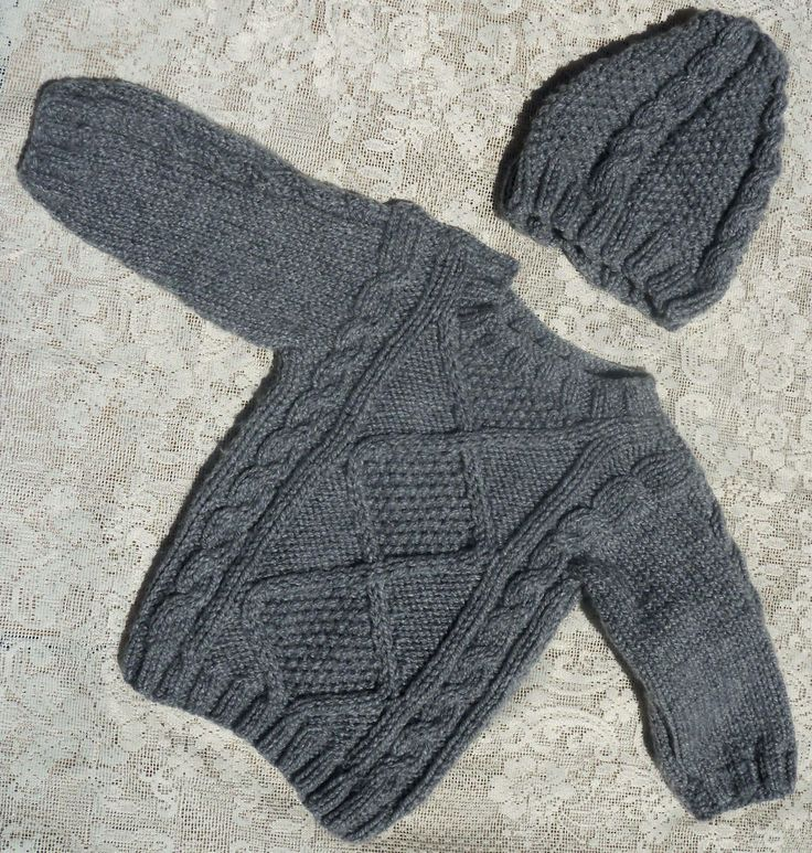25 best ideas about chalecos tejidos para bebe on - Hacer punto con dos agujas para principiantes ...