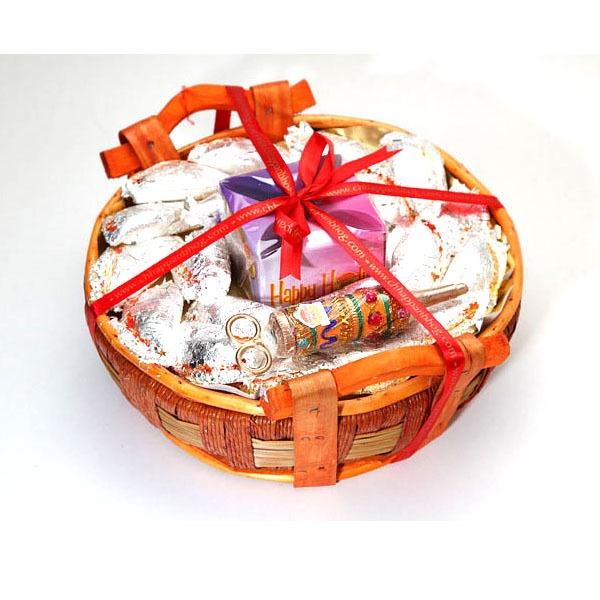 Kaju Gujiya Gift Hamper : Holi Gift Hampers