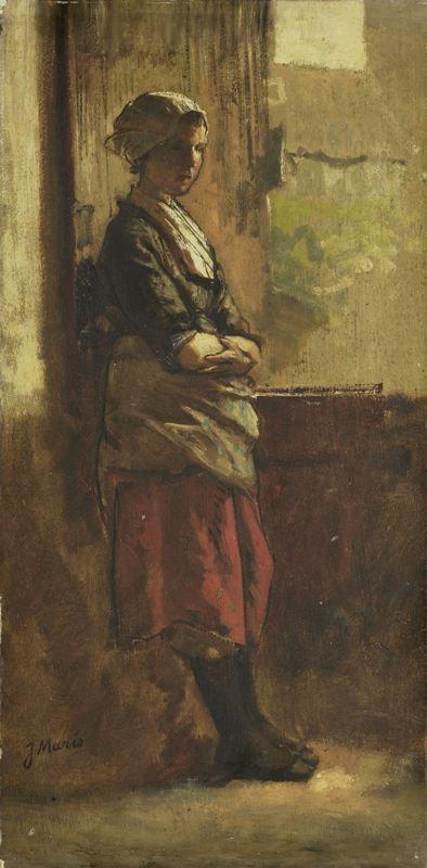 Jacob Maris - Meisje bij het venster