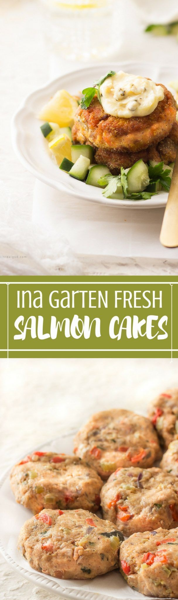 INA GARTEN FRESH SALMON CAKES
