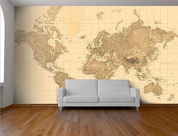 Personalised Map Wallpaper – Leentje van der Deijl