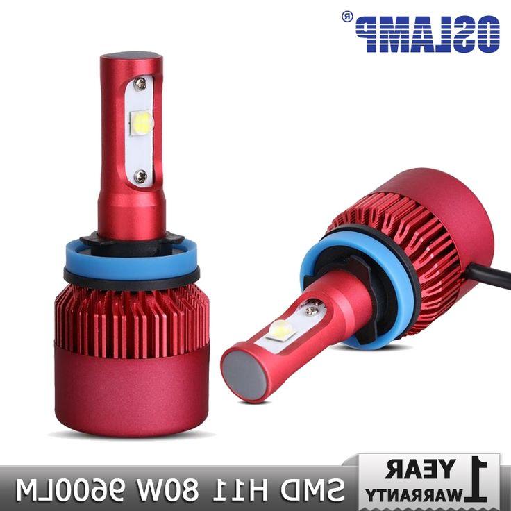 34.03$  Buy now - https://alitems.com/g/1e8d114494b01f4c715516525dc3e8/?i=5&ulp=https%3A%2F%2Fwww.aliexpress.com%2Fitem%2FOslamp-H11-H8-H9-LED-Car-Headlight-CREE-SMD-Chips-Led-Fog-Light-Bulb-DRL-80W%2F32680417414.html - Oslamp H11 H8 H9 LED Car Headlight CREE SMD Chips Led Fog Light Bulb DRL 80W 9600lm 6500K Auto Led Headlamp 12v 24v Car Lighting