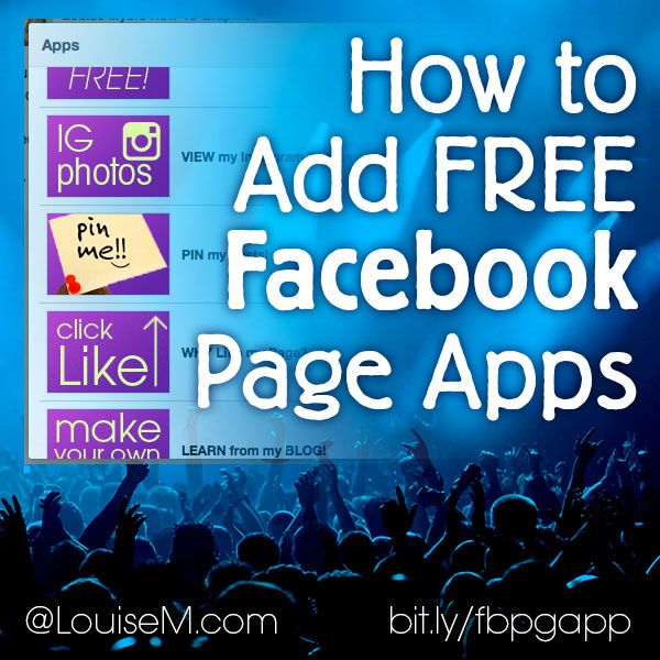 How to Add FREE #Facebook Apps for Pages: Tutorials