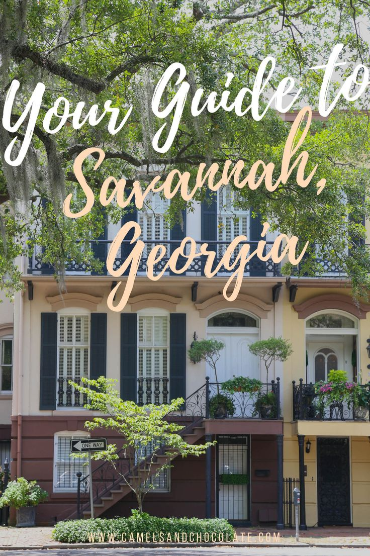 Your Ultimate Weekend Itinerary to Savannah. Savannah is a beloved gem among Southerners  and it is my favorite city in the South—if not, the entire country—and should be the first stop you make on any Southern road trip. This historic Georgia city of weeping oaks is full of fun things to do (and delicious things to eat) and after a number of visits I have put together the perfect weekend itinerary to help you fall in love with Savannah like I did. | Camels and Chocolate