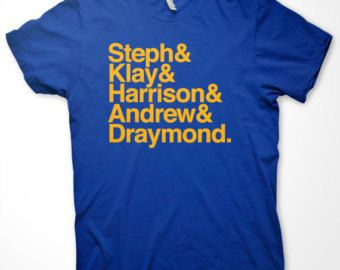"Golden State Warriors ""Ampersand"" T-Shirt in Warriors Blue"