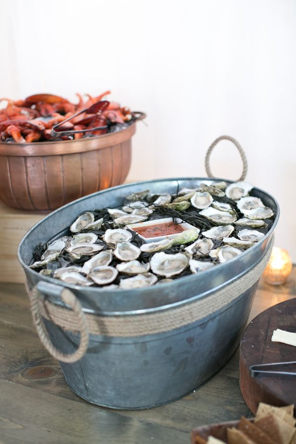 Quick Tip: Utilize Local Seafood! Wedding CateringCatering IdeasBackyard ...