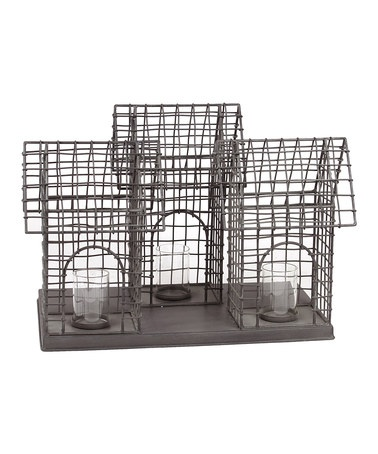 Take a look at this Triple Wire Bird Cage by Urban Trends Collection on #zulily today!