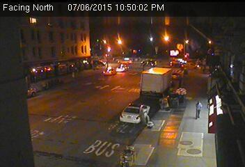 Webcam Central Park - Voici une caméra de circulation de la ville de...